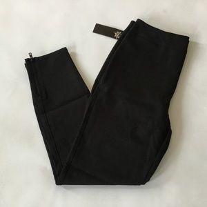 Spanx Skinny Ankle Dress Pant Black Size 10 NWT